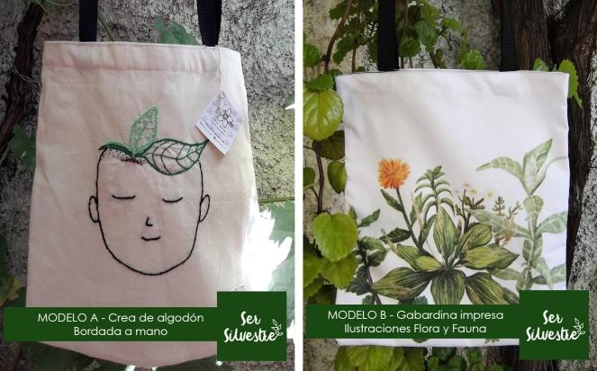 Modelos bolsas reutilizables