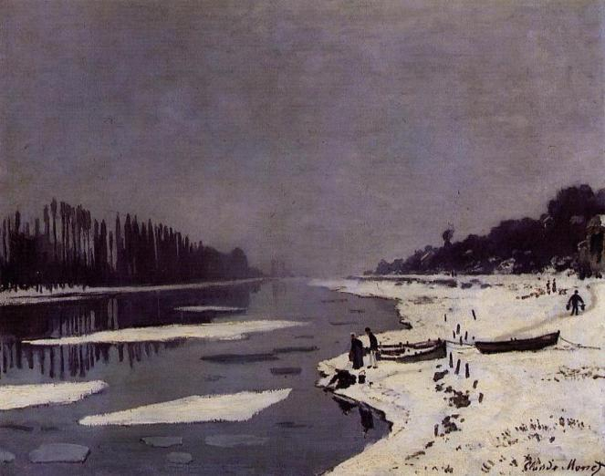 Claude-Oscar-Monet-Ice-Floes-on-the-Seine-at-Bougival